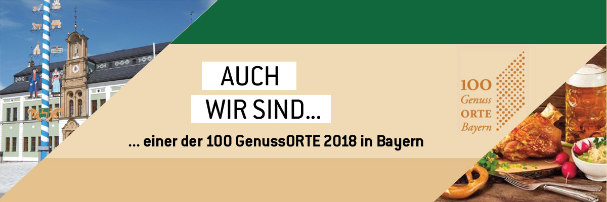 Genussort in Bayern - Header